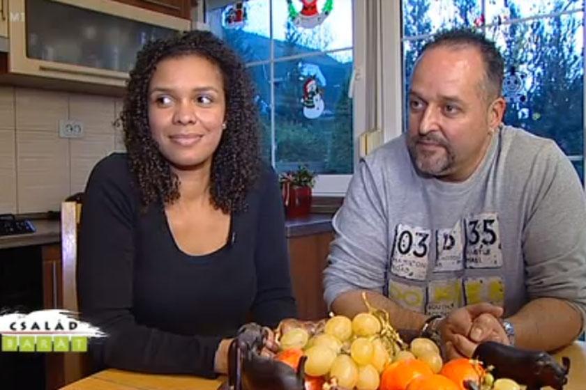 2013-ban, a Család-barát magazinban szerepelt együtt párjával.