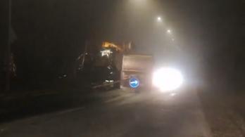 Újra csőtörés volt a Budakeszi úton, de már szinte meg is javították