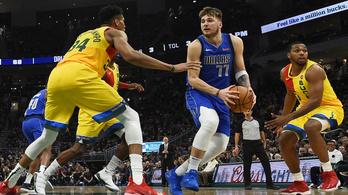 Az NBA két európai sztárja vezeti az All Star-szavazást