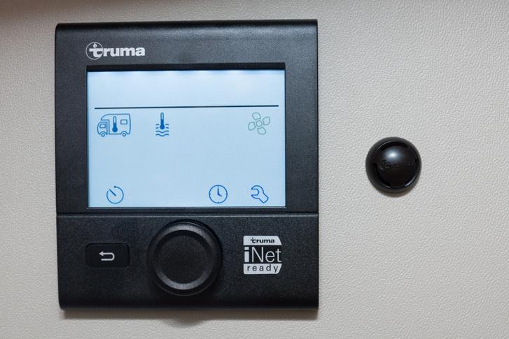 Egy modern fűtésvezérlő panell