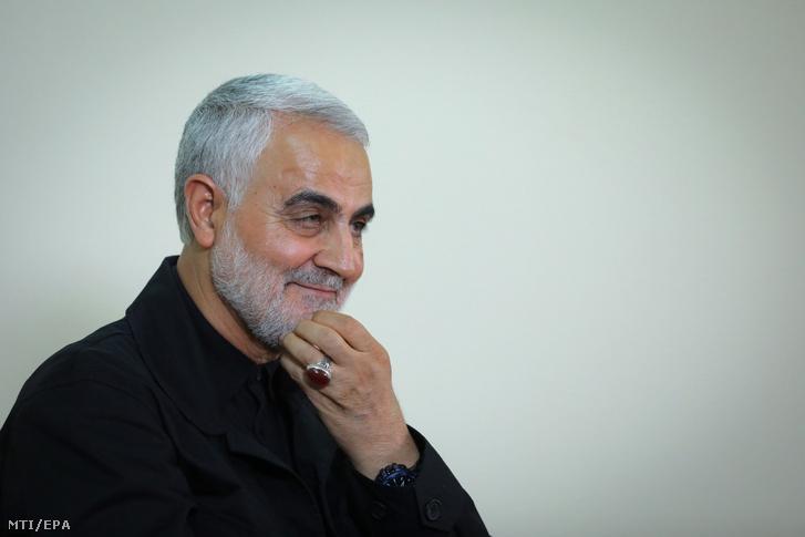 Kászim Szulejmáni Teheránban 2019. október 1-jén.