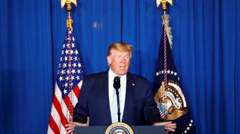 Trump: Azért léptünk, hogy megállítsunk egy háborút, nem azért, hogy elkezdjünk egyet