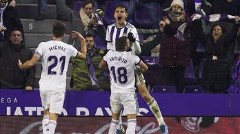 Óriási fejessel mentett pontot a Valladolid fiatal törökje