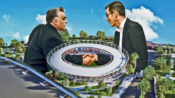 Stadionstopból születik stadion a Duna-parton