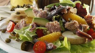 Tonhalsaláta naranccsal és zellerrel – alacsony kalóriatartalom mellett is ehetsz finomat