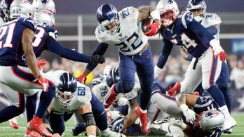 112 kilós óriás zárhatta le a Patriots-korszakot, 16-0 pontos feltámadás az NFL-rájátszásban