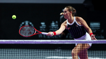 Kikapott a kínai tenisztorna selejtezőjében Babos Tímea