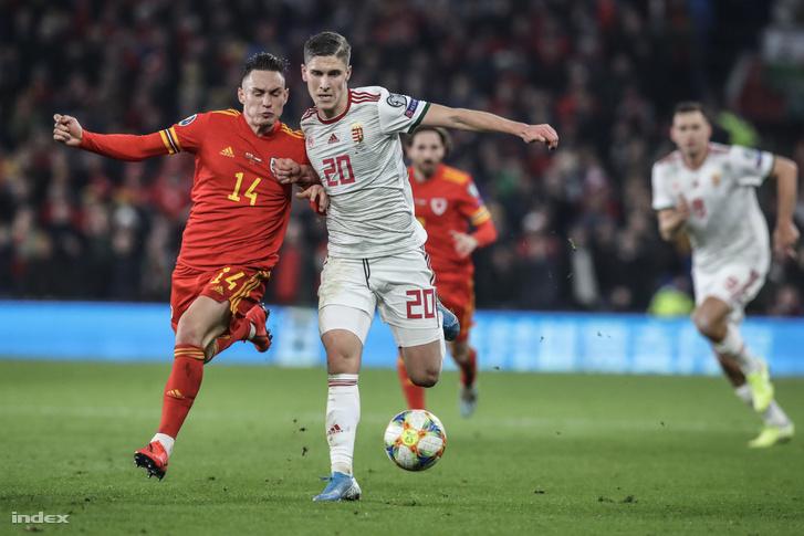 A Wales elleni Eb-selejtezőn 2-0 arányban kapott ki a magyar válogatott 2019. november 19-én.