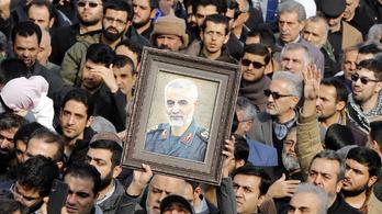 Százezrek vonultak Szulejmáni búcsúztatóján Iránban