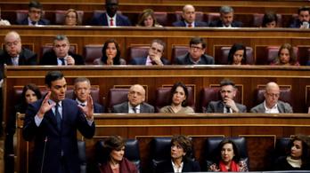 Elsőre elbukott a parlamentben a tervezett spanyol kormánykoalíció