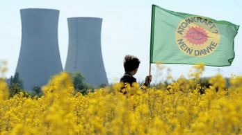 Évi 1100 halálesetet okozhat a német atomstop amerikai közgazdászok szerint