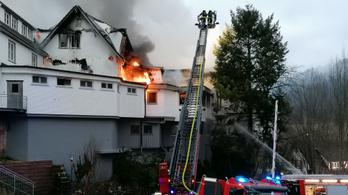 Teljesen leégett a három Michelin-csillagos étterem a Fekete-erdőben