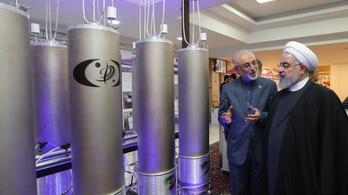 Irán újra urándúsításba kezd, vége az atomalkunak