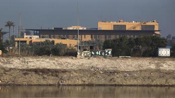 Két rakéta csapódott be a bagdadi védett zónába