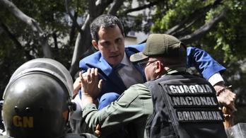Venezuelában a kormány megszállta a parlamentet, az ellenzék Guaidót választotta újra