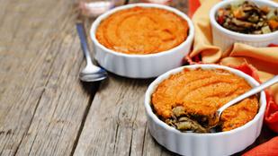 Spórolj a kalóriákkal, a gomba segíteni fog: barna sörös-gombás pásztorpite édesburgonyával
