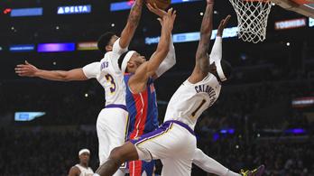 Blokkparti lett a Los Angeles Lakers meccséből