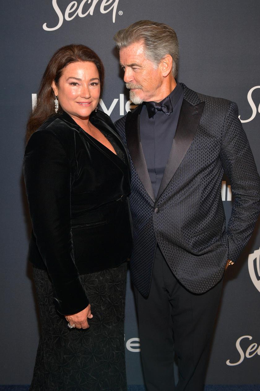 26 éve lángol a szerelem Pierce Brosnan és felesége, Keely Shaye között.