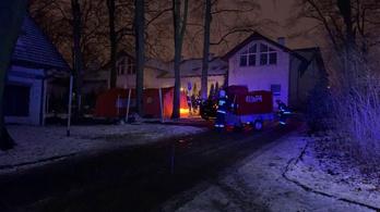 Tűz ütött ki egy lengyel hospice otthonban, többen meghaltak