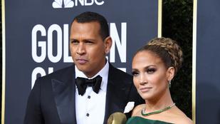 A Golden Globe-on díj nélkül maradt Jennifer Lopezt vőlegénye vigasztalta meg