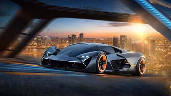 A karosszériát is feltöltené a Lamborghini
