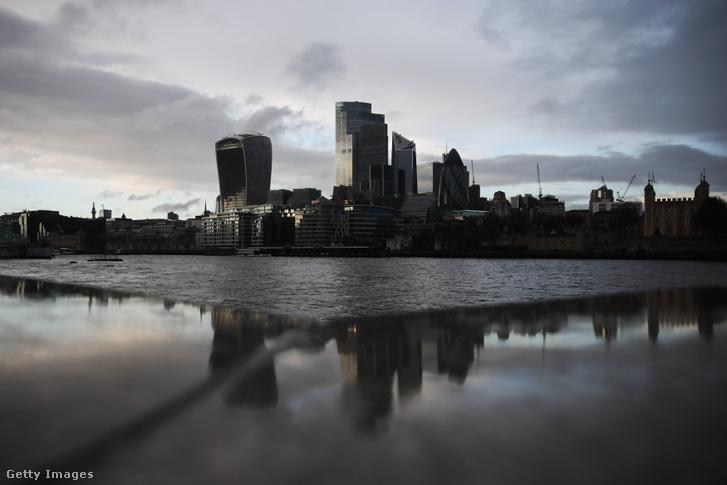 London pénzügyi negyede
