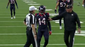 Tartalékbíró mentette meg az NFL-t egy rém bizarr botránytól
