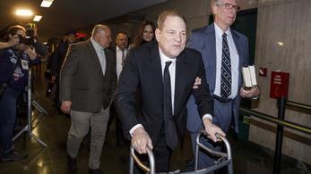 Nemi erőszak, szexuális bántalmazás: Los Angelesben is bíróság elé áll Weinstein