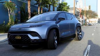 A Tesla alá ígér a Fisker új villanyautója