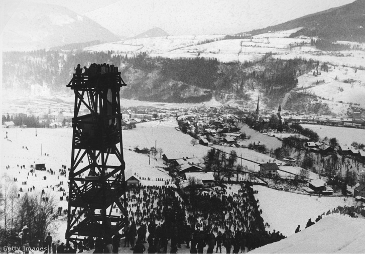 A Négysáncverseny1963-as bischofshofeni versenye