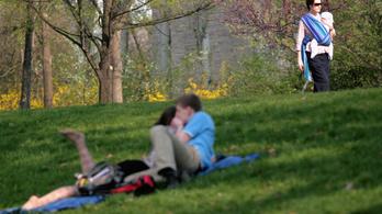 Sétálni és pihenni járnak a parkokba a budapestiek, állapította meg a Főkert hatmilliós felmérése