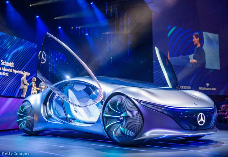 CES 2020-on bemutatott Mercedes Vision AVTR tanulmányautó
