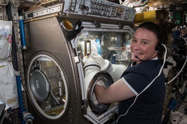 Serena Auñón-Chancellor az ISS-en