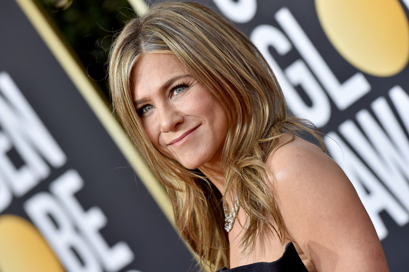 jennifer aniston golden globe