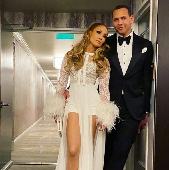 Jennifer Lopez hókirálynőként tündökölt a gála afterpartiján.