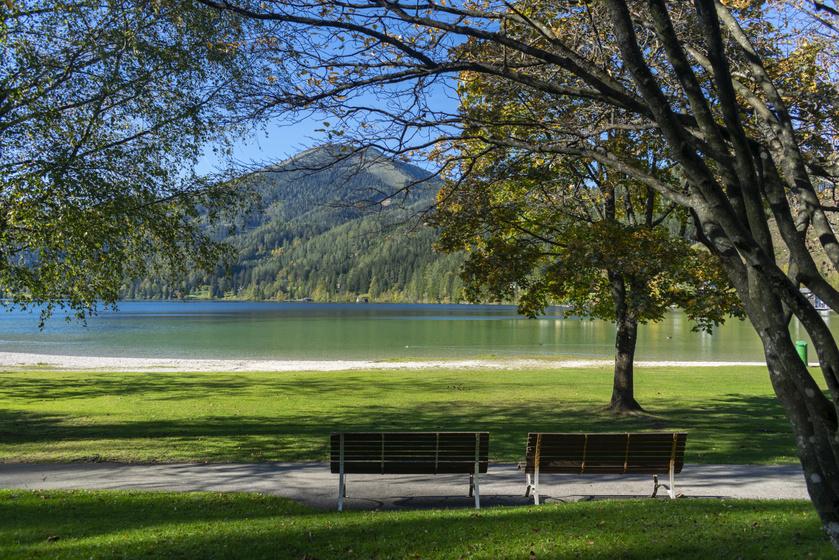 Az Erlaufsee Mariazell mellett