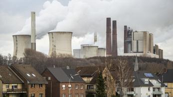 Németországban hatalmasat csökkent a szén-dioxid-kibocsátás