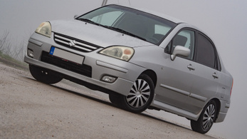 Használtteszt: Suzuki Liana 1.6 GS AC - 2004.