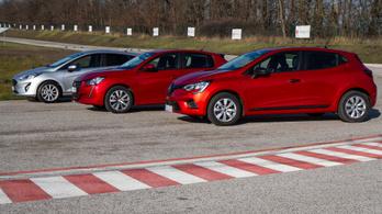 Összehasonlítás: Ford Fiesta 1.1 - Peugeot 208 1.2 - Renault Clio 1.0 – 2020.