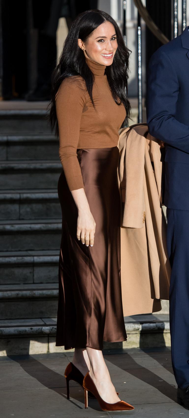 Meghan hercegné fantasztikusan nézett ki tegnap Londonban.