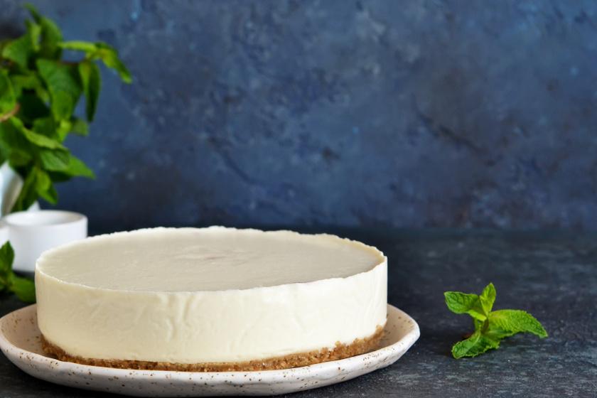 fehér csokis cheesecake recept