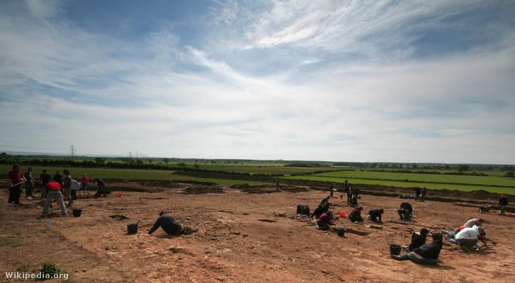 A 2008-as ásatás, ahol rátaláltak az agyra