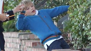 Hatalmasat esett Ben Affleck kisfia