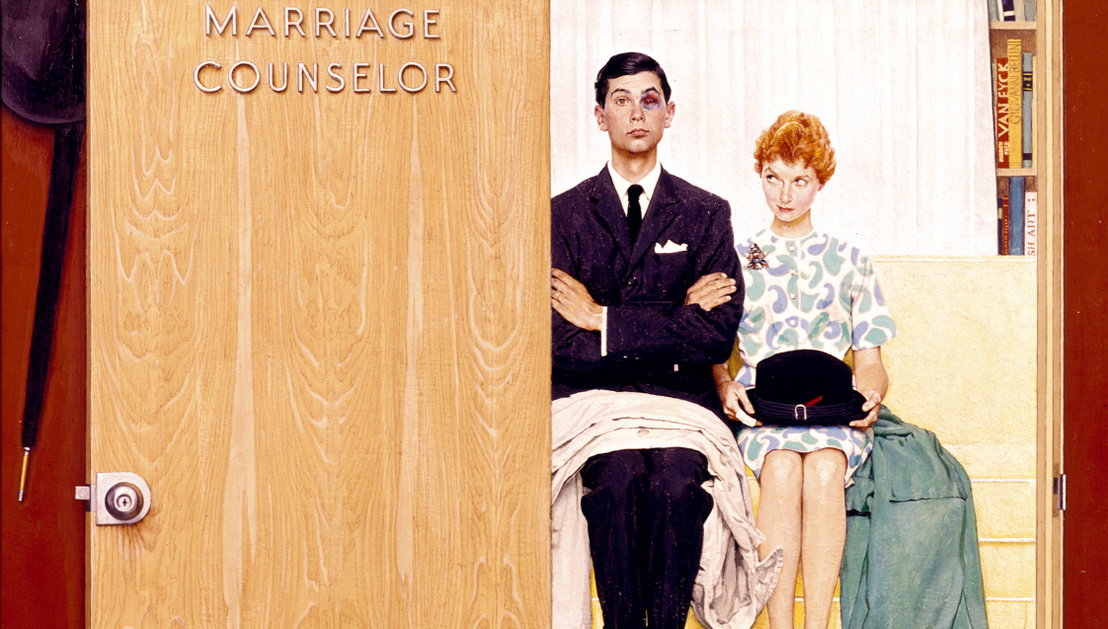 BKF Presse Norman Rockwell Marriage Counslor