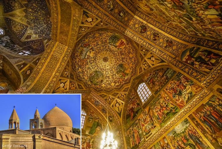 Vank-katedrális − Iránnak keresztény történelmi vonatkozása is van