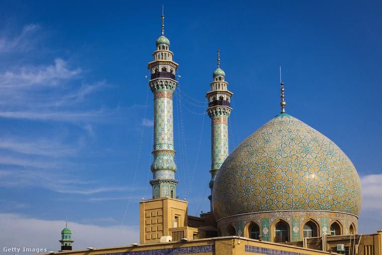 Reza imám szentélye − A világ leghatalmasabb mecsete Meshedban található