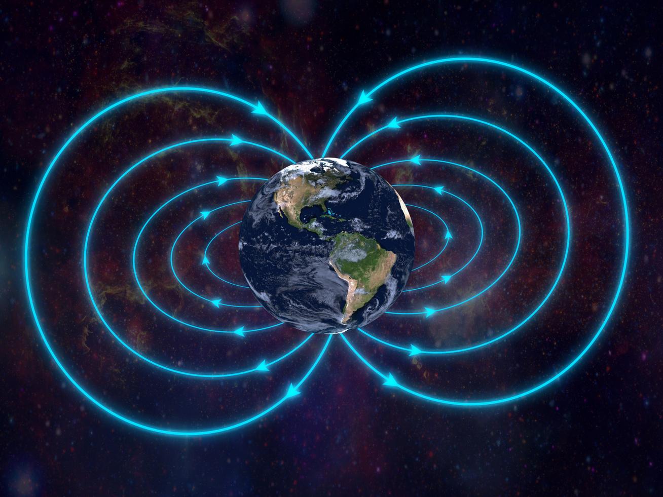 Föld mágneses erő