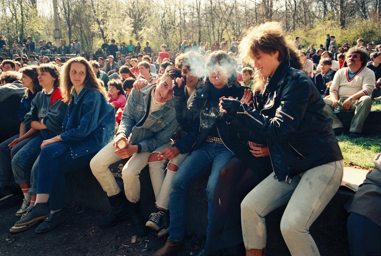 Ricsések Hűvösvölgyben, 1989. május elsején.