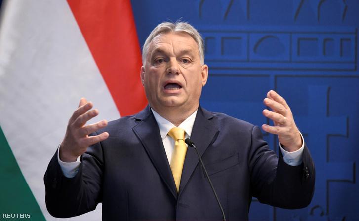 Orbán Viktor a mai sajtótájékoztatón