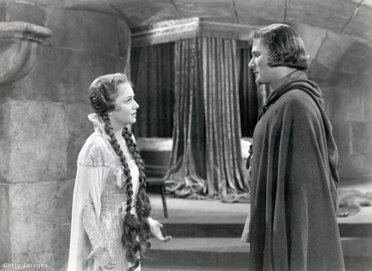 Olivia De Havilland és Errol Flynn (Robin Hood kalandjai, 1938)
